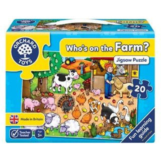 farm puzzle for kids