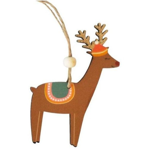 Reindeer hanging decoration