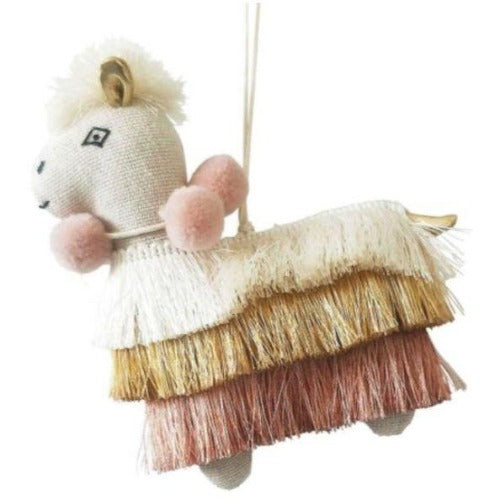 Llama tassel hanging decoration