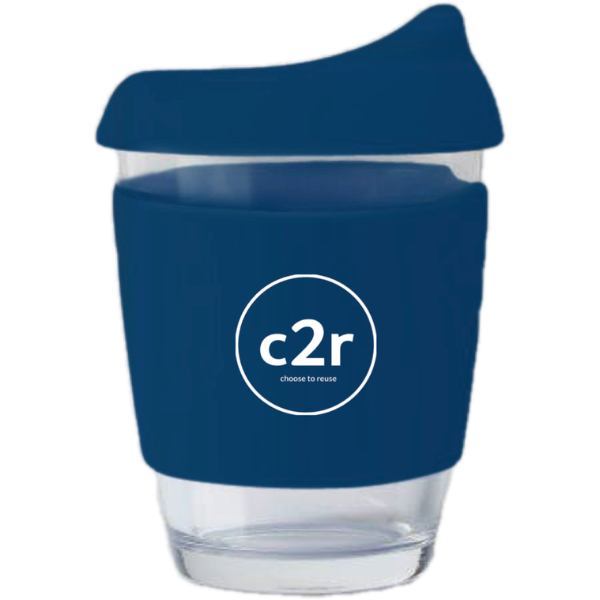 Navy Glass Eco Cup
