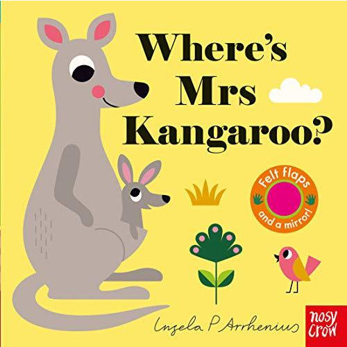 yellow where is mrs kangaroo childrens book