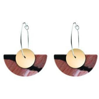 Miimi & Jinda Medium Hoop Earrings