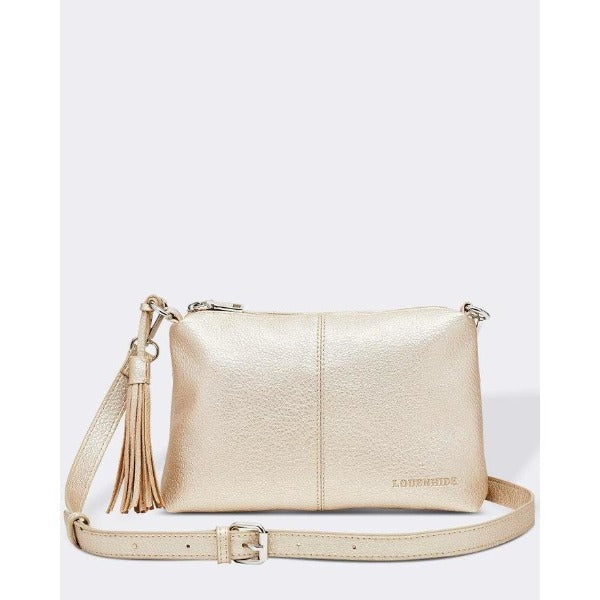 Baby Daisy Gold Crossbody Bag