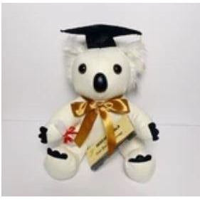 Graduation Message Koala Bear