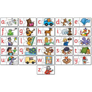 alphabet match set