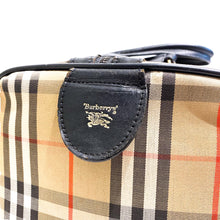 Load image into Gallery viewer, BURBERRY BOSTON BAG - 1980's -