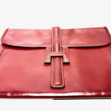 Load image into Gallery viewer, XL JIGE HERMÈS CLUTCH - 1980's -