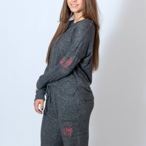 LADIES CUDDLE JOGGER - CHARCOAL