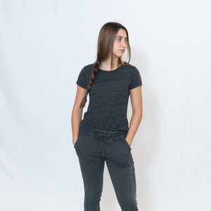 ECO JERSEY IDEAL T-SHIRT - ECO BLACK