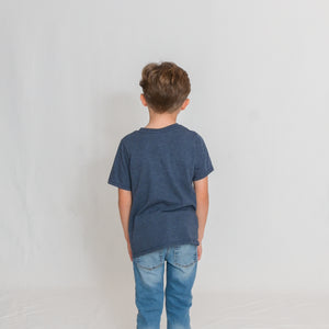 YOUTH PERFECT TEE - NAVY FROST