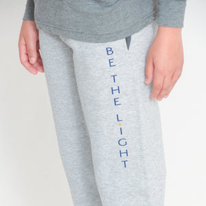 YOUTH FLEECE JOGGER - ATHLETIC HEATHER