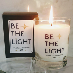 BE THE LIGHT Candle (Pick Up Only)