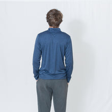 Load image into Gallery viewer, PERFORMANCE QUARTER ZIP - DARK NAVY