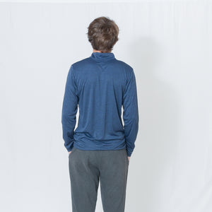 PERFORMANCE QUARTER ZIP - DARK NAVY