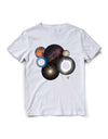 T-shirt Starmus Circles White