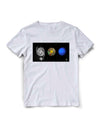 T-shirt Starmus Collage III White