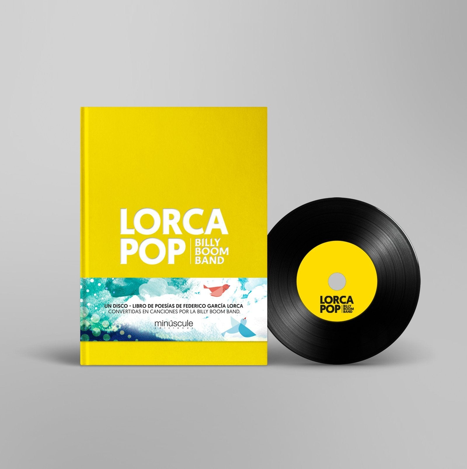 Lorca POP - Libro + CD - The Fandation - Billy Boom Band