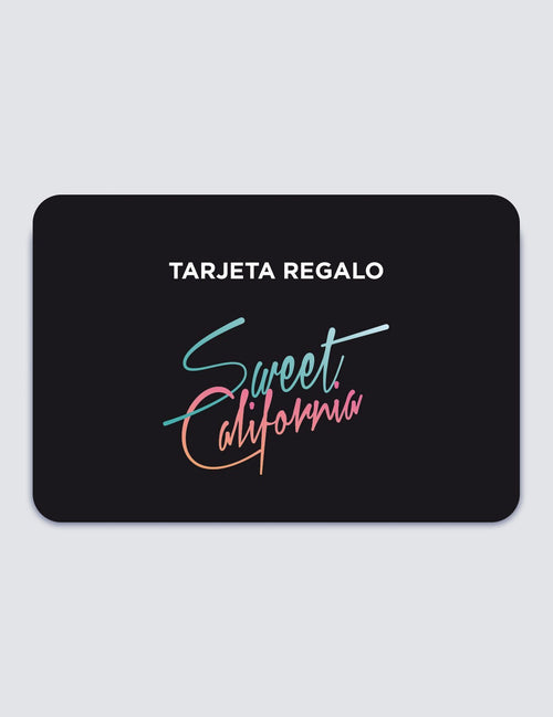 Tarjeta regalo Sweet California - The Fandation - SWEET CALIFORNIA