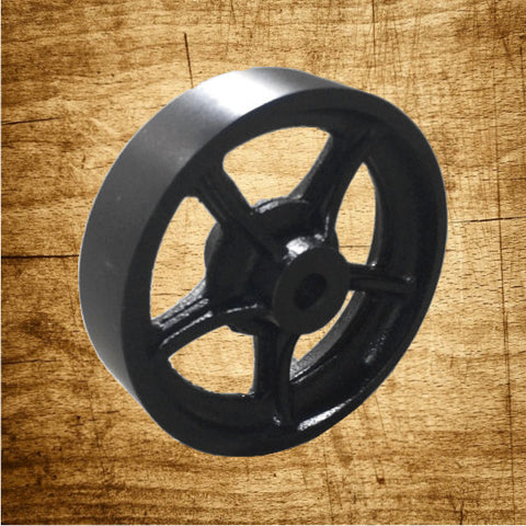 Wheel Only - Cast Iron Tread - Spoke Wheel Hub