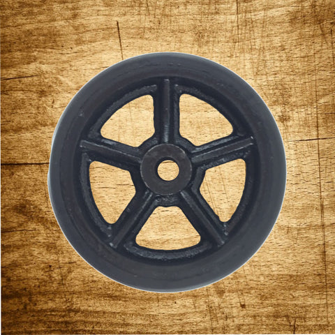Wheel Only - Polyurethane Tread - Spoke Wheel Hub