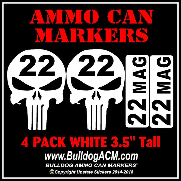 22 Magnum Ammo Can Marker