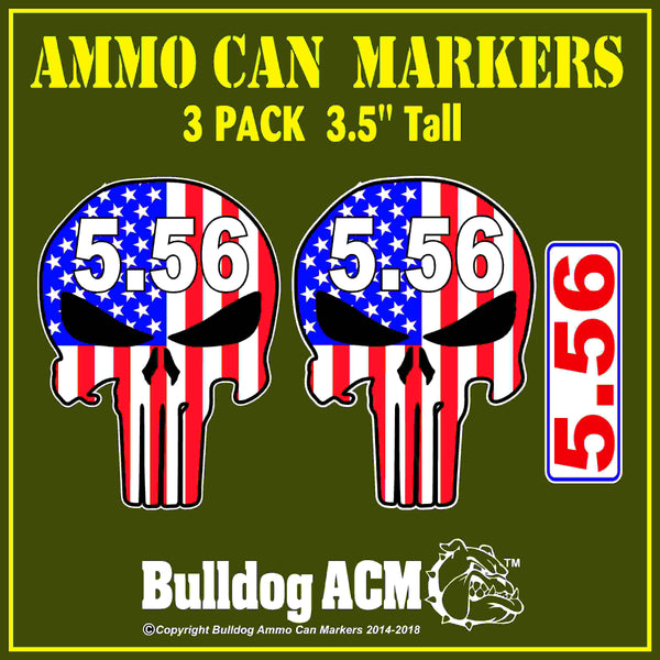 Ammo Can Markers