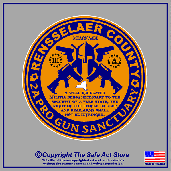 NY 2A Sanctuary County Decals