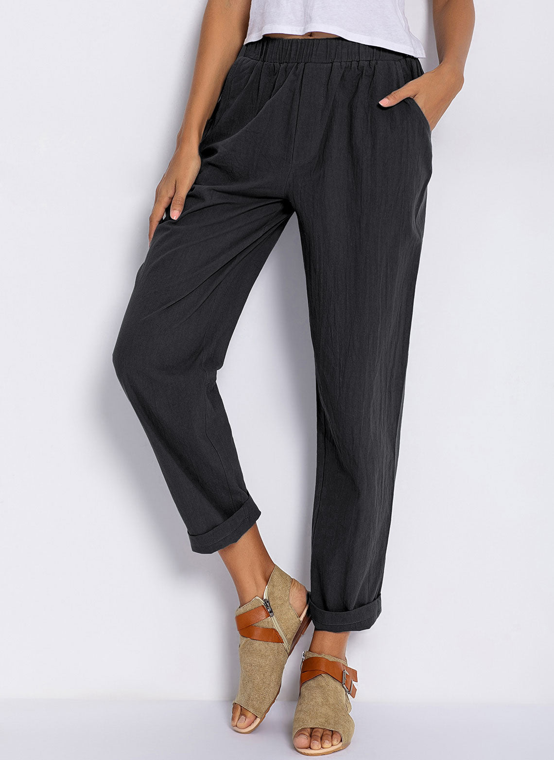 Women's Plus Size Straight Pants
