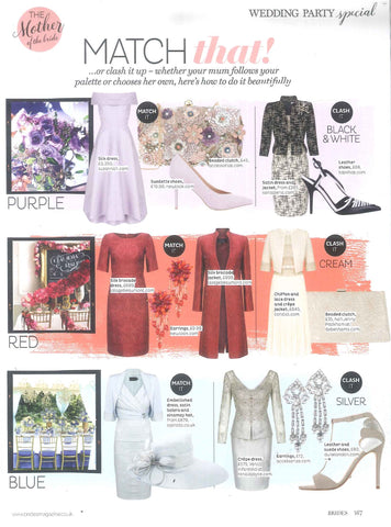Brides Magazine Lalage Beaumont