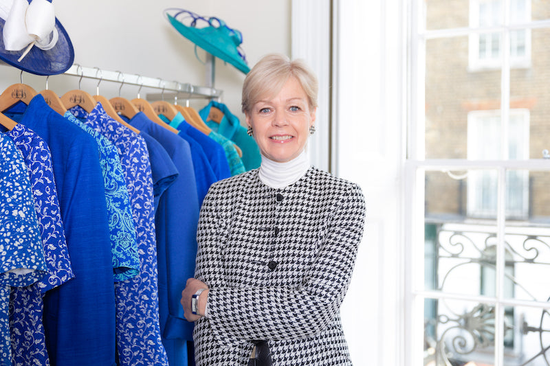 Investment shopping, sustainable womenswear, occasionwear and workwear.
