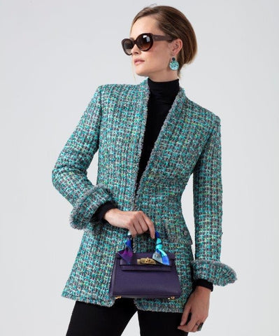 Winter Tweed jacket for women