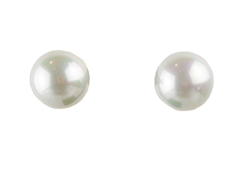14mm Mother of Pearl Stud - Various Colours