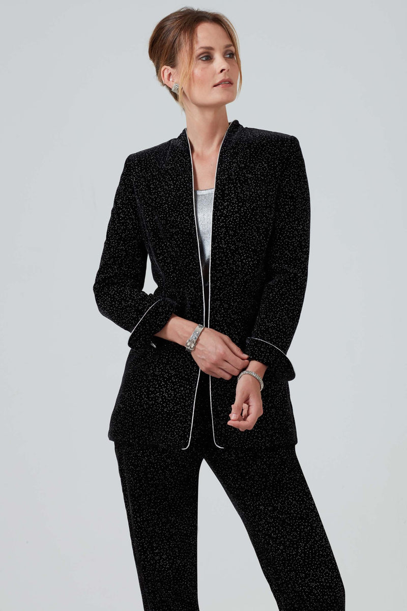 velvet occasion wear jacket