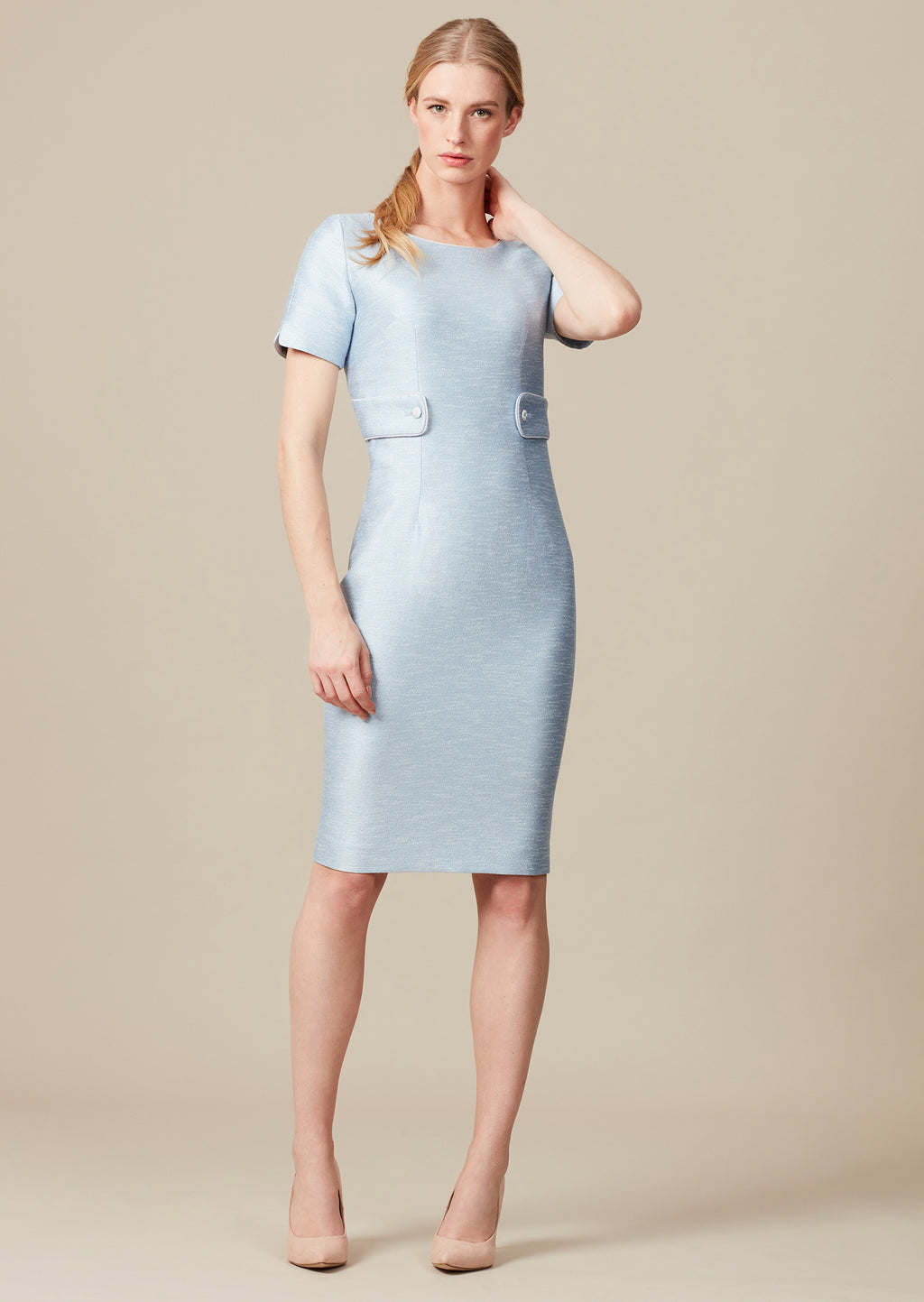 Freya sateen dress for mothers of the bride