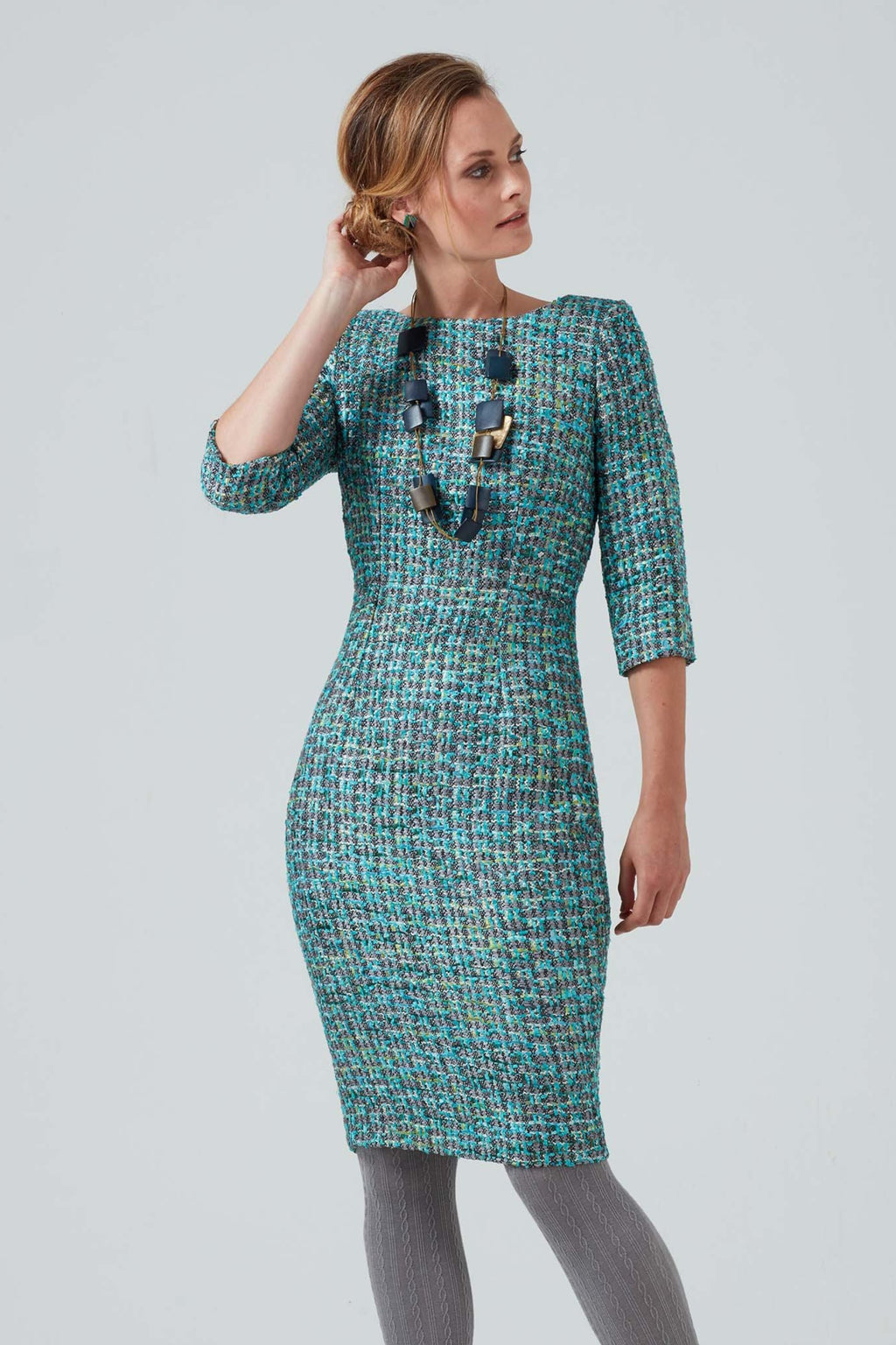 Tweed occasion wear dress