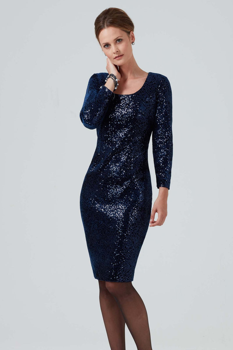 sequin occasion wear dress