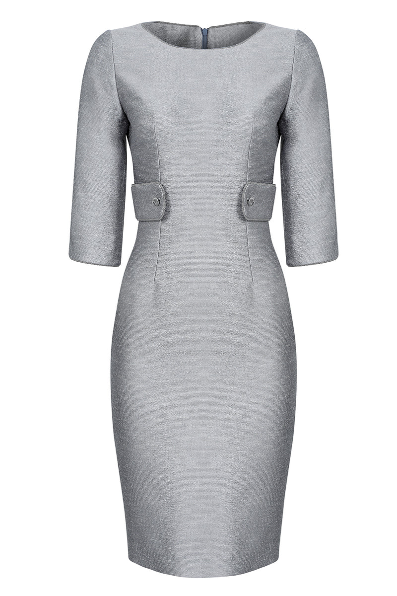 silver mother of the bride dress or occasion wear