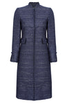 navy mother of the bride coat