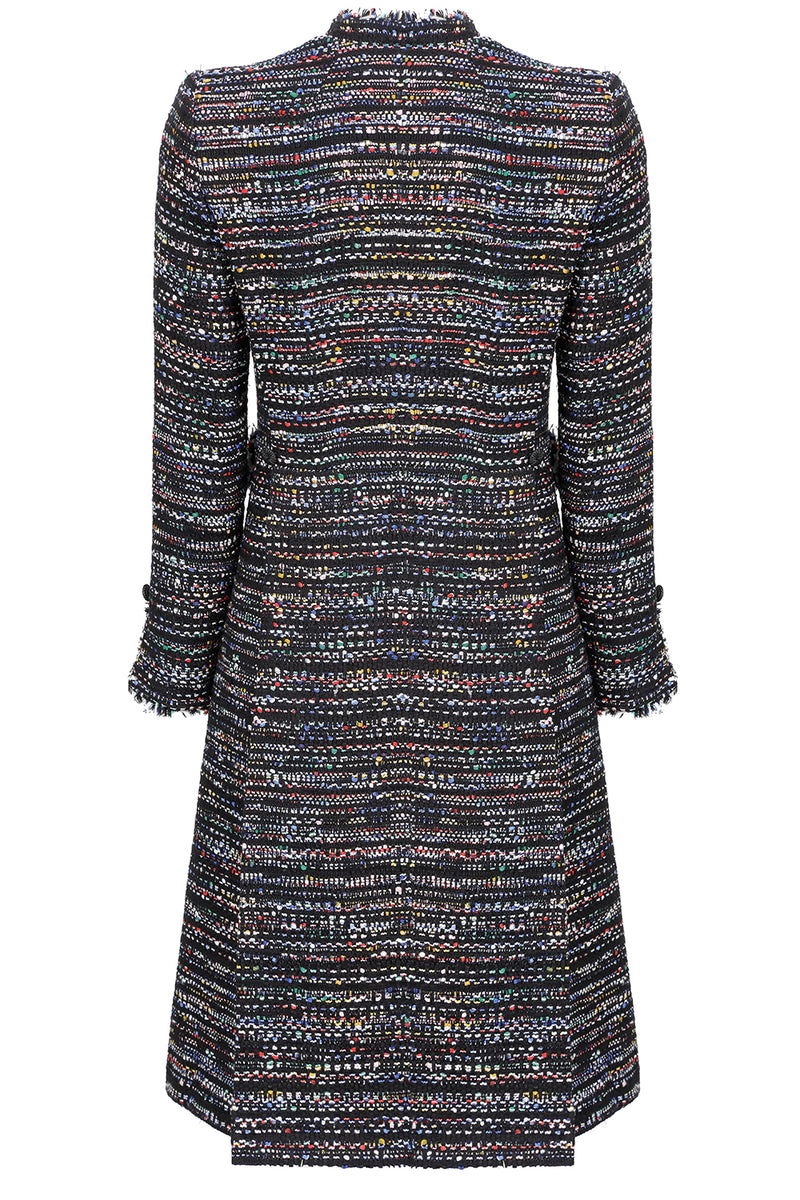 black Mother of the bride tweed jacket  by Lalage Beaumont