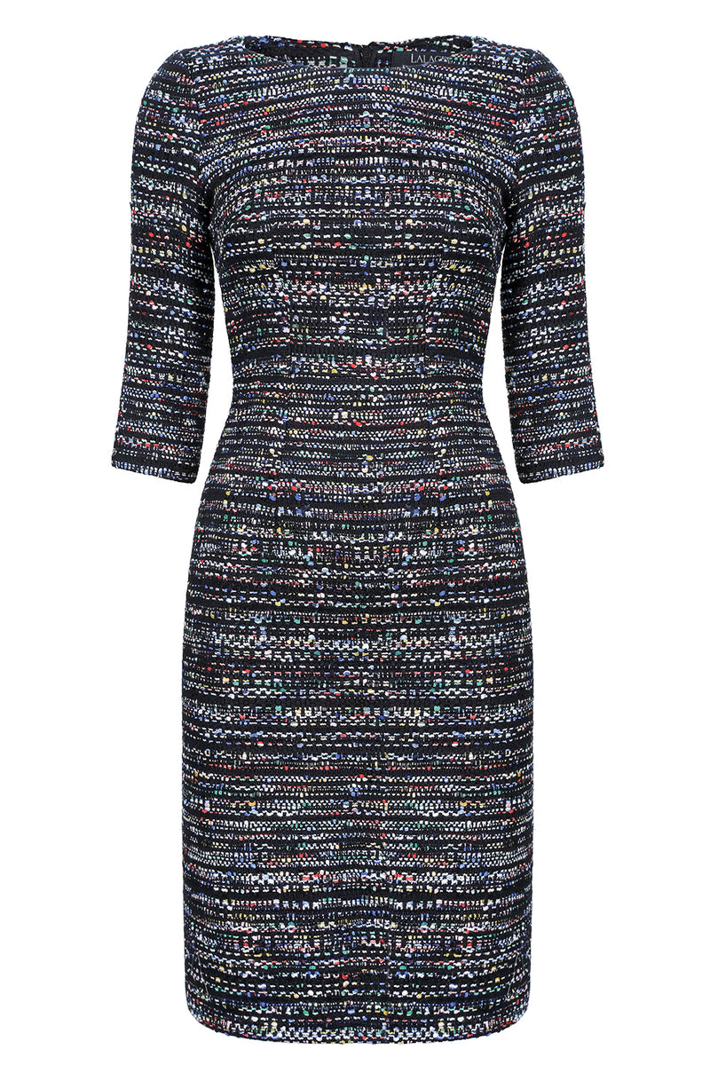 womens designer tweed business dress