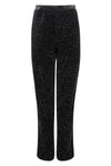 Black women's occasion wear trousers