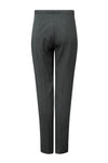 Narrow Leg Trousers in Forest Green Charmelaine- Cigarette