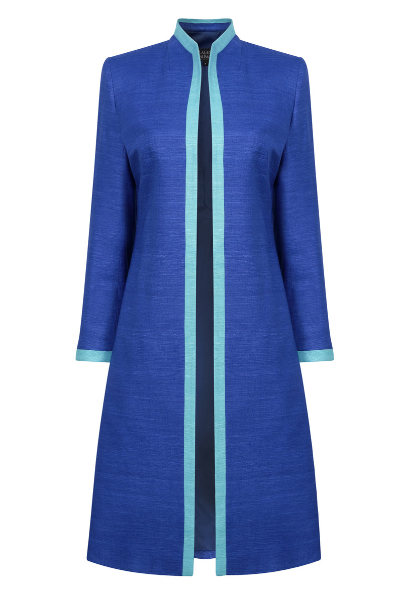 lorna luxury dress coat by Lalage Beaumont