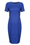 sapphire blue dress for weddings