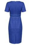 sapphire blue mother of the bride dress london