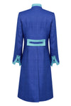 designer raw silk dress coat and outfit for weddings
