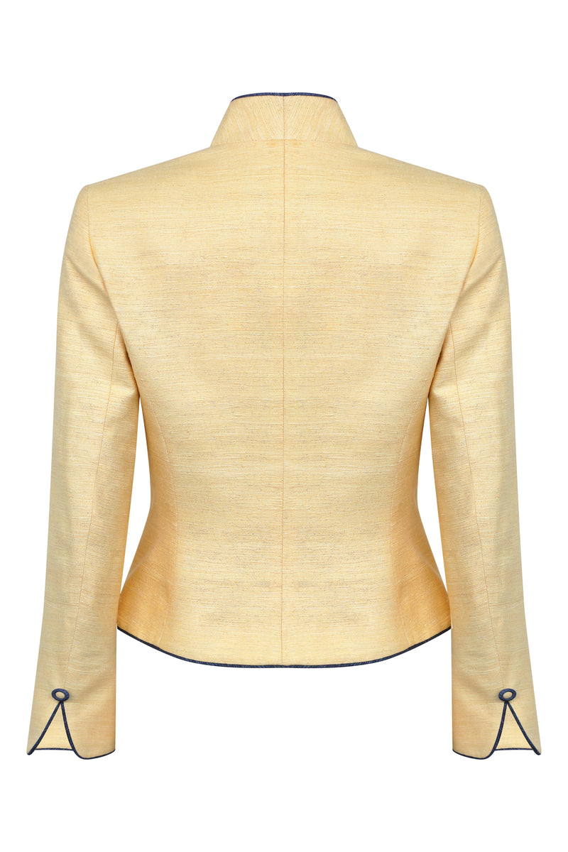 honey coloured designer jacket