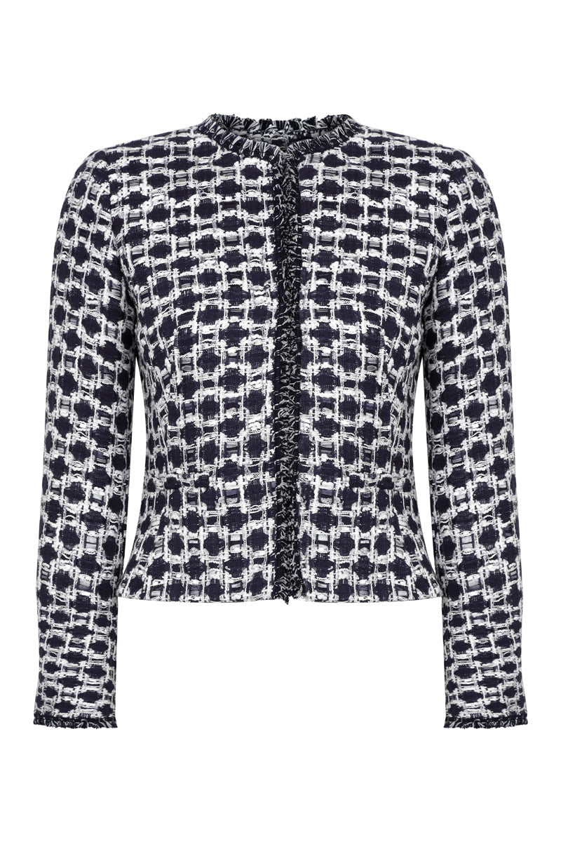 Gina short jacket by Lalage Beaumont