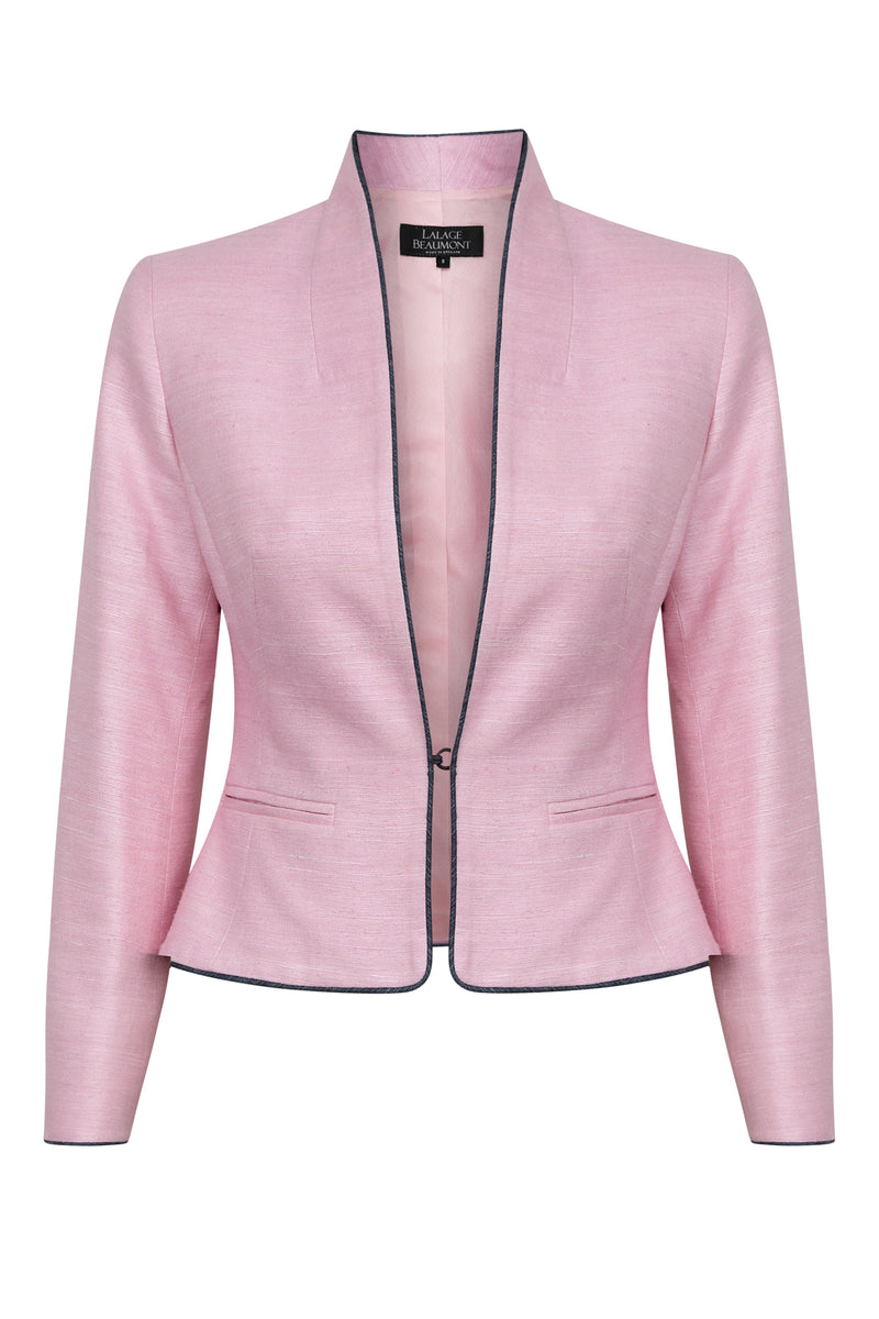 pink short jacket for weddings