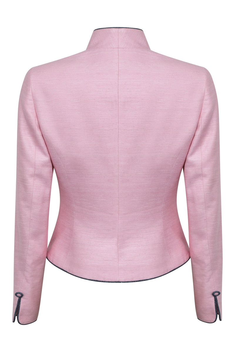 pink mother of the bride jacket